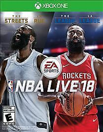 NBA Live 18 (Microsoft Xbox One, 2017) - BRAND NEW