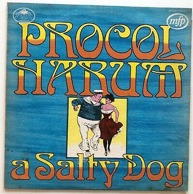 Procol Harum - A Salty Dog - 1972 Uk Release - Vinyl Lp Compilation Stereo