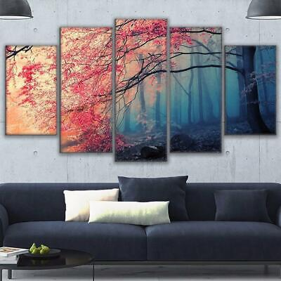 CHERRY BLOSSOM BARK Canvas Art Print for Wall Decor and Painting. Flower Canvas