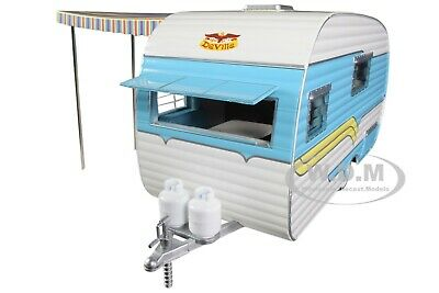 1958 Catolac Deville Travel Trailer 1/24 Diecast Model By Greenlight 18450 A