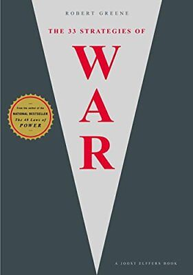 The 33 Strategies of War by Robert Greene and Joost Elffers (2006, Hardcover)