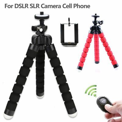 Portable Mini Flexible Foam Tripod Stand For DSLR SLR Camera Cell Phones