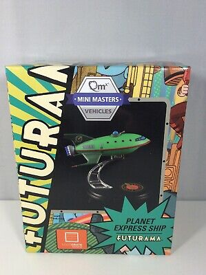 Futurama Planet Express Ship New Qmx Mini Masters Vehicle Loot Crate Exclusive