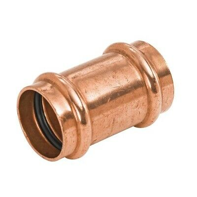 """Lot of 10 - 3/4"""" Propress Copper Coupling With No Stops - PPCL0034"""
