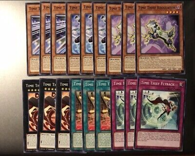 Yugioh 1st Ed Time Thief Core SAST-EN085 82 83 84 86 87 Playset Of All Cards!