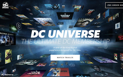 DC Universe - The Ultimate 1 Year Membership Account - Stream Comics, Shows