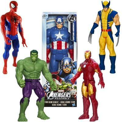 "Marvel Avengers 12"" inch Action Figures Titan Hero Series Official Hasbro Gifts"