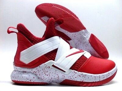 00cd69a49ed Nike Lebron Soldier Xii 12 Id Sport Red white Size Men s 9  Ar6333-