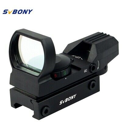 SVBONY 20mm Rail Riflescope Hunting Airsoft Optics Scope Holographic Red Dot