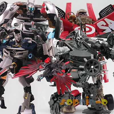 Transformed Movie Soundwave Sideswipe Jury Barricade Leadfoot Human Alliance