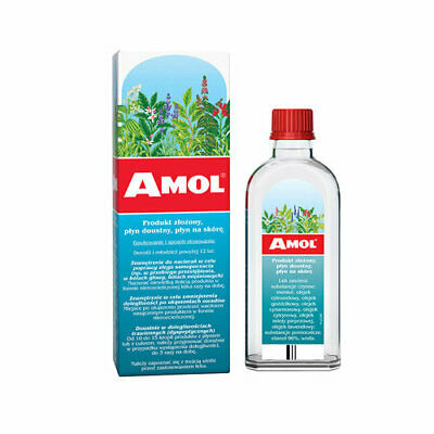Amol 250ml Plyn Migrena Bol Glowy Kaszel SAME DAY DISPATCH UK
