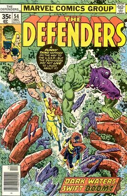 Defenders (1st Series) #54 1977 VG Stock Image Low Grade