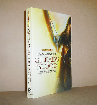 GILEAD'S BLOOD Dan Abnett Nik Vincent Warhammer nice trade-size softcover