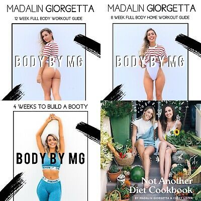 Madalin Giorgetta Body by MG guide BUNDLE 💕 (3 guides + 1 cookbook)