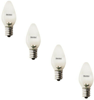 LED Light Bulbs 4 Pack 4 Watt Equivalent C7 Soft White Night Lights Appliances