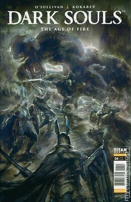 Dark Souls Age of Fire (Titan) #4A 2018 Angulo Variant NM Stock Image