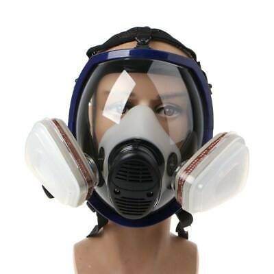 7 in 1 Painting Facepiece Respirator Spraying For 3M 6800 Full Face Gas Mask