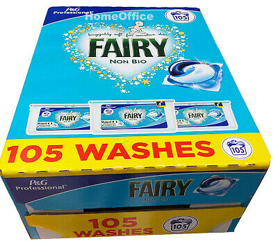 Fairy Non-Bio Liquitabs Pods, 3 x 35 Packs 105 Washes