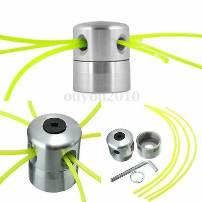 Aluminium Line Head Alu Double Trimmer Head Bobbin Set for Gasoline Brushcutter