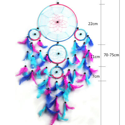 Better decor Beautiful Handmade Dream Catcher Hang Ornament Bright Multi Color