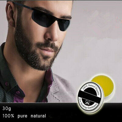 Natural Oil Conditioner Beard Care Moustache Wax Men Grooming Accessories