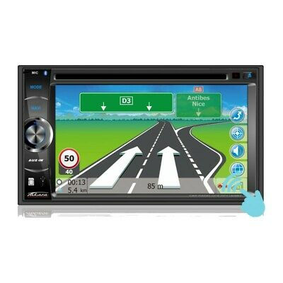 Autoradio/GPS multimedia double DIN TAKARA GPV1826BT