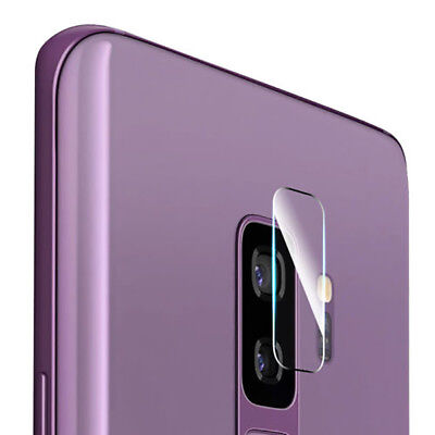 AU_ Rear Camera Lens Tempered Glass Screen Protector For Samsung Galaxy S9 Plus