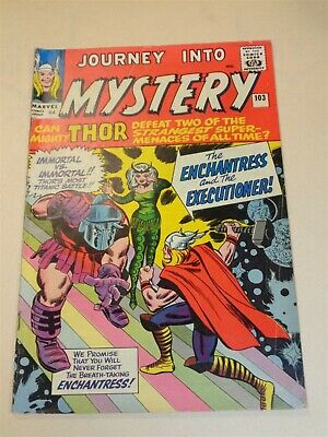 Thor Journey Into Mystery #103 Vg (4.0) Marvel Intro Enchantress April 1964**