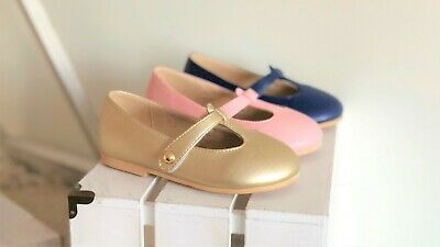 Girls Mary Jane leather shoes