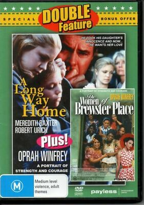 F36 BRAND NEW SEALED A Long Way Home / The Women of Brewster Place (DVD)