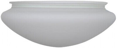 Ceiling Fan Replacement  Glass Hugger 52 in. Brushed Nickel Light Cover