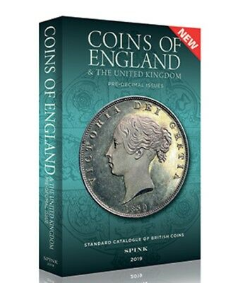 Spinks coins of England 2019 -new Book