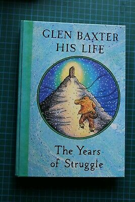 English Book GLEN BAXTER His Life The Years of Struggle Thame & Hudson 1983
