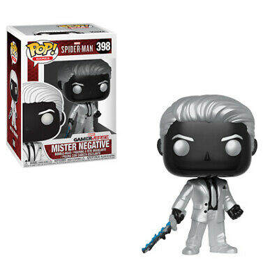 Funko Pop Marvel Games: Spider-Man Video Game - Mr. Negative Collectible Figure,
