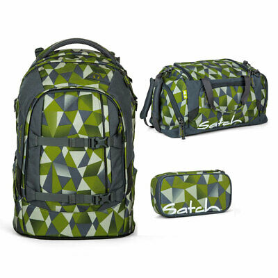 a817b7d297b88 SATCH PACK SCHULRUCKSACK-SET 3tlg Green Crush - EUR 178