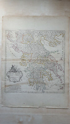 Graeciae Antiquae D'Anville Laurie & Whittle 1794 Large Map of Ancient Greece