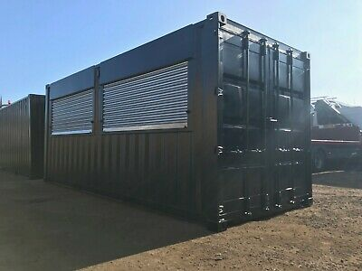 40ft x 8ft Double Roller Shutter Shipping Container - Southampton