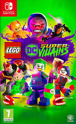 Videogioco Switch LEGO DC Super Villains Nuovo Originale per Nintendo Switch