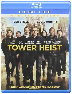 Tower Heist (Blu-rayDVD, 2012, Special Edition) NEW