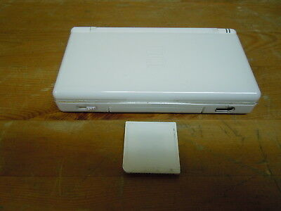 Nintendo DS NDS Lite Handheld Console Game System Color White with Games