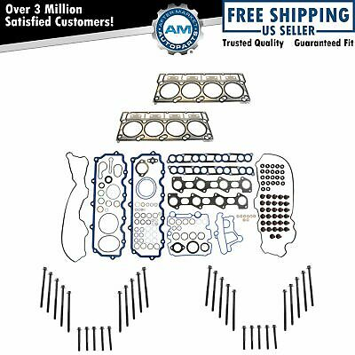 Fel-Pro Upper Engine Gasket Set Head Gaskets & Bolts for 03-06 Ford 6.0L Diesel