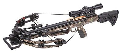 Crosman Centerpoint Mercenary Whisper 390 Camo Crossbow - AXCMW185CK