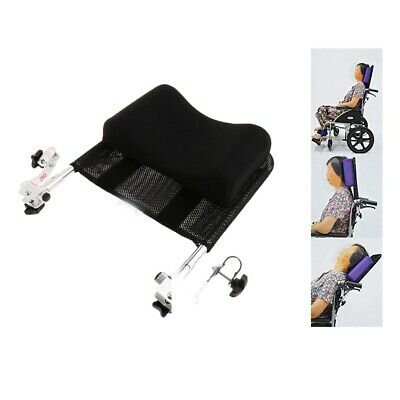"""Adjustable 16""""-20"""" Wheelchair Head Rest Support Cushion Backrest Pad Pillow"""