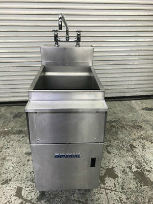Pasta Rinse Station Water Tank IMPERIAL - IPC-RS-18 #9012 Stainless Steel Dump
