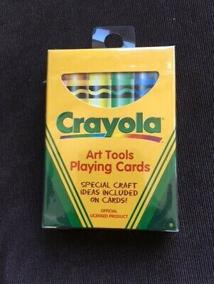 Bicycle Crayola Art Tools Playing Cards 6 73 Picclick