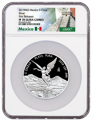 2017-Mo Mexico 1//20 oz Silver Libertad Proof 0.20 Coin NGC PF70 UC SKU52042