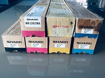 ORIGINAL SHARP MX-27GTYA YELLOW -  JAUNE - Pour MX2300/2700/2300N/2700N -  NEUF