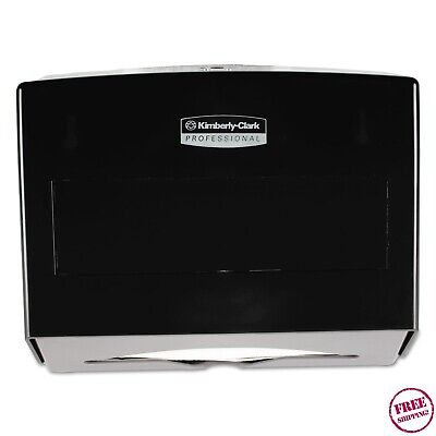 Kimberly Clark Scottfold Compact Towel Dispenser, Smoke (KCC09215) ADA Standard