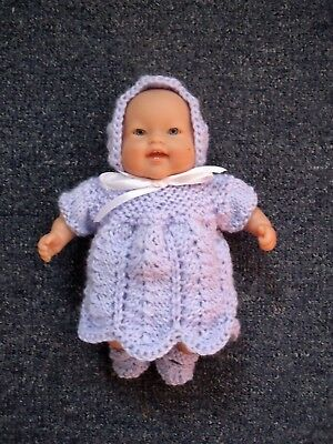 4pce Hyacinth set Hand Knitted Dolls Clothes 20cm 8inch