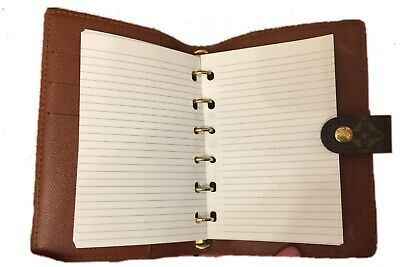 fits Louis Vuitton PM Small Agenda Planner: Insert Pen + 200 Pages: Value Pack!